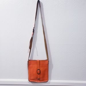 Patricia Nash venezia orange Crossbody Pouch